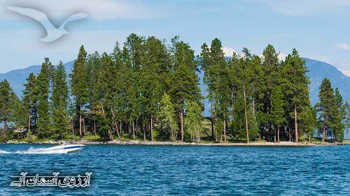 دریاچهAsemanabi