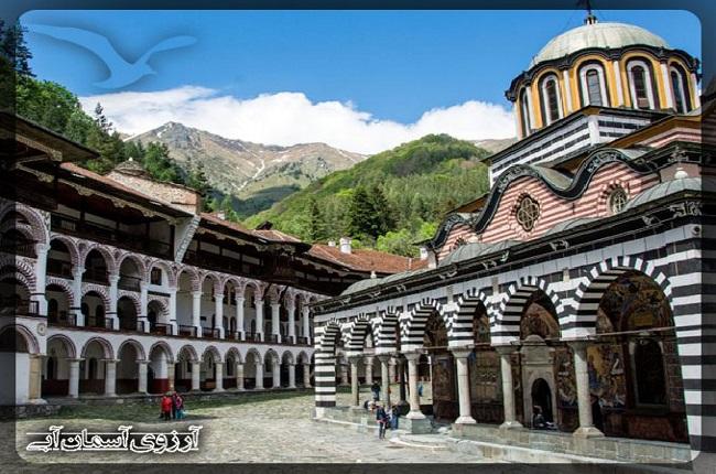 صومعه ريلا در شهر صوفيه بلغارستان
