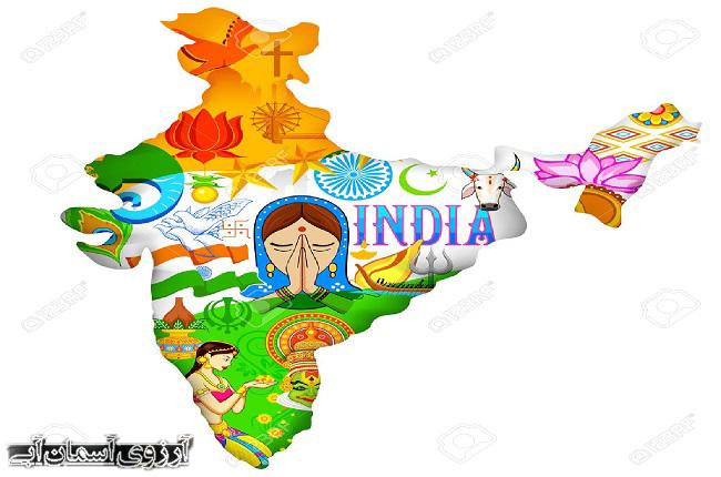موقعیت جغرافیایی هند