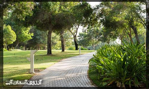 پارك نهر دبي _ آسمان آبي