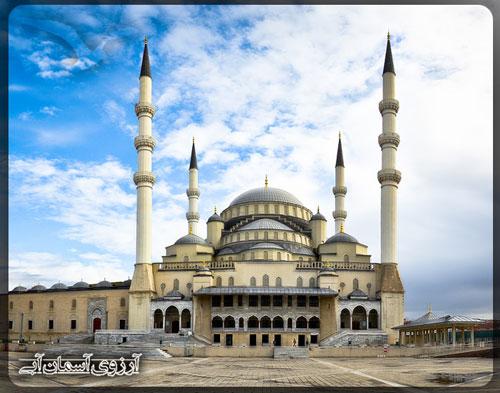 مسجد-قوجاتپه-آنکارا-ترکیه