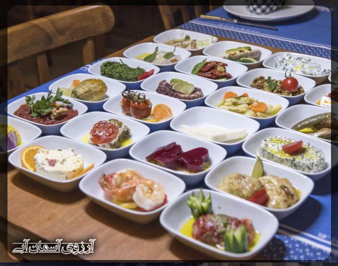 رستوران-ماوی-سورگن-بدروم-ترکیه