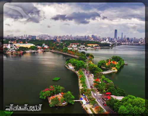 دریاچه-وست-هانوی-ویتنام