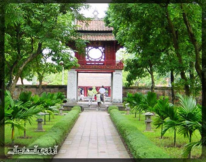 معبد-ادب-هنر-هانوی