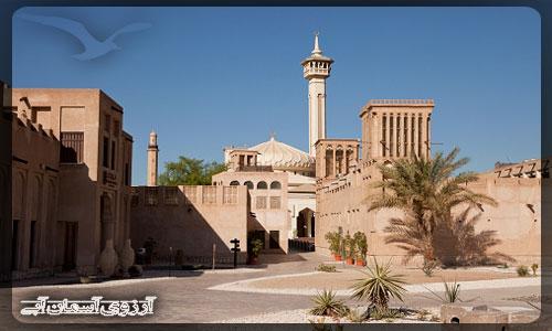 باستاكيا محله قديمي دبي _ آسمان آبي