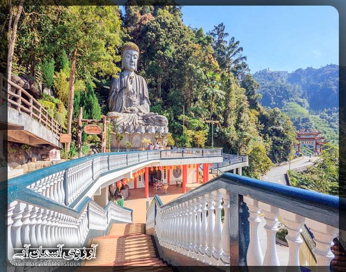 معبد چين سويي كيو كوالالامپور _ آسمان آبي