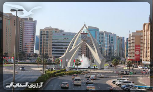 برج ساعت ديرا دبي _ آسمان آبي