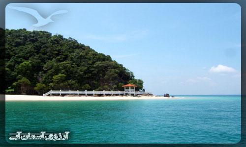 جزیره کاپاس در مالزی_ آژانس آسمان آبی