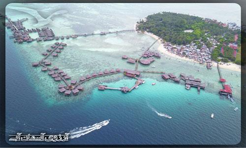 جزیره مابول مالزی _ آژانس آسمان آبی
