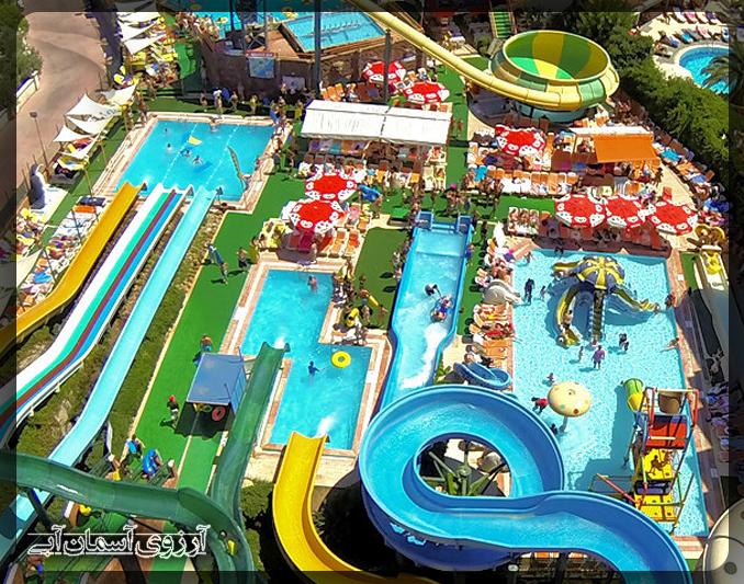پارک-آبی-آتلانتیس-مارماریس-ترکیه