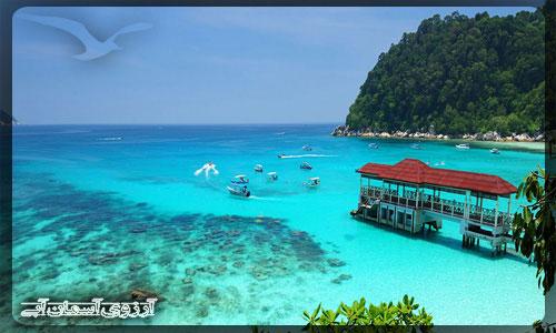 جزیره پرهنتیان مالزی _ آژانس آسمان آبی