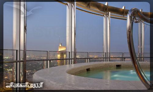 برج خليفه دبي _ آسمان آبي
