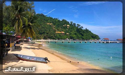 جزیره تیامون مالزی _ آژانس آسمان آبی